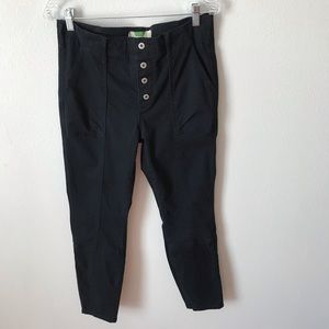 Anthropologie Skinny High Rise Cargo Pants Size 30